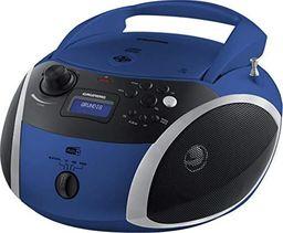 Radioodtwarzacz Grundig Grundig GRB 4000, a CD player(blue / silver, FM / DAB + radio, CD-R / RW, Bluetooth)