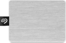 Dysk zewnętrzny Seagate SSD One Touch SSD 1 TB Biały (STJE1000402)