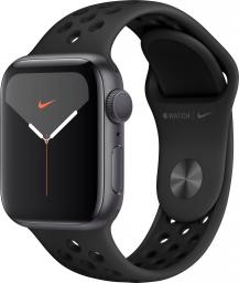 Smartwatch Apple Watch Nike Series 5 GPS 40mm Grey Alu Czarny  (MX3T2FD/A)