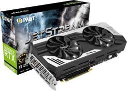Karta graficzna Palit GeForce RTX 2070 SUPER JetStream Light Edition 8GB GDDR6 (NE6207S019P2-1040J)