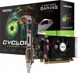 Karta graficzna Arktek GeForce GT 710 LP 2GB DDR3 (AKN710D3S2GL1)