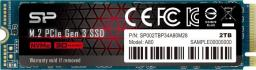 Dysk SSD Silicon Power SSD 2TB    Silicon Power M.2 PCI-E Ace A80 Gen 3x4 NVMe