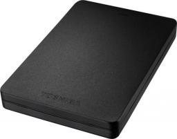 Dysk zewnętrzny Toshiba Canvio aluminiowy 500GB USB 3.0, czarny