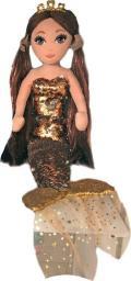 TY Mermaids Ginger cekinowa brązowa syrenka (02104)