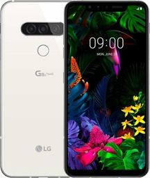 Smartfon LG G8S ThinQ 128 GB Dual SIM Biały  (LMG810EAW.ADECMW)