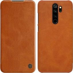 Nillkin Etui Nillkin QIN Xiaomi Redmi Note 8 Pro - brązowe