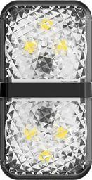 Baseus Ostrzegawcza lampka samochodowa Door Open Warning Light do drzwi 2szt. czarna (CRFZD-01)
