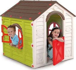 Keter Domek dla dzieci Rancho Playhouse zielono-brązowy