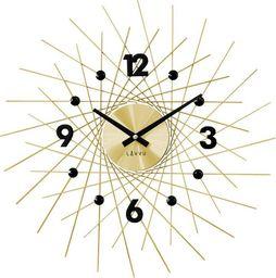 Lavvu Zegar ścienny LAVVU LCT1053 z kryształkami, średnica 49,5 cm uniwersalny