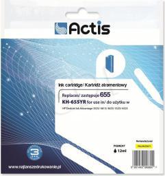 Actis KH-655YR (HP Nr 655 CZ112AE) Żółty