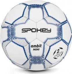 Spokey Piłka nożna AMBIT Mini biała r. 2