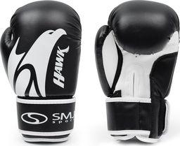 SMJ sport Rękawice bokserskie SMJ Hawk 2019 Black 12 oz