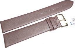 JVD Skórzany pasek do zegarka 20 mm JVD R14802-20P-G uniwersalny