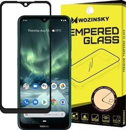 Wozinsky Wozinsky super wytrzymałe szkło hartowane Full Glue na cały ekran z ramką Case Friendly Nokia 7.2 / Nokia 6.2 czarny uniwersalny