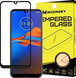 Wozinsky Wozinsky super wytrzymałe szkło hartowane Full Glue na cały ekran z ramką Case Friendly Motorola Moto E6 Plus przezroczysty uniwersalny