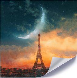 Feeby Plakat, Księżyc nad Paryżem 40x40