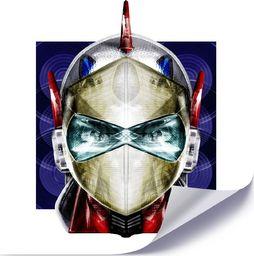 Feeby Plakat, Maska japońskiego bohatera 40x40