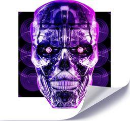 Feeby Plakat, Fioletowa czaszka 40x40