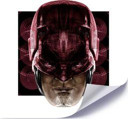 Feeby Plakat, Czerwony bohater 40x40