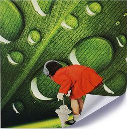 Feeby Plakat, Dziewczynka w czerwonej garsonce 40x40