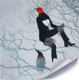 Feeby Plakat, Człowiek ptak 40x40