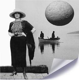 Feeby Plakat, Kobieta z lornetką 40x40