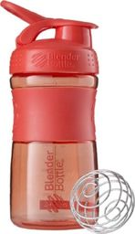 Blender Bottle Shaker do odżywek Blender Bottle SportMixer 590ml - czerwony Uniwersalny