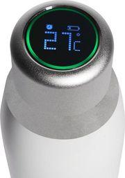 Puro PURO Butelka termiczna 500ml INOX z inteligentną nakrętka LED (biała)