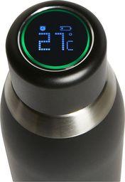 Puro PURO Butelka termiczna 500ml INOX z inteligentną nakrętka LED (czarna)