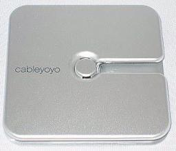 Organizer BlueLounge Cableyoyo uchwyt na kable srebrny (CY-SL)