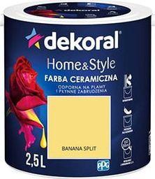Dekoral Farba ceramiczna Dekoral Home&Style 2,5l BANANA SPLIT