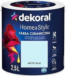 Dekoral Farba ceramiczna Dekoral Home&Style 2,5l ARCTIC BLUE
