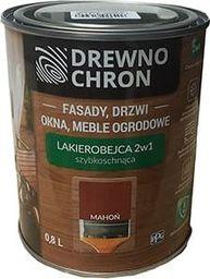 Drewno Chron Lakierobejca 2w1 Drewno Chron 0,8L kolor Mahoń