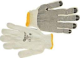 Geko rękawice robocze dzianina nakrapiana (G73504)