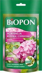BIOPON Nawóz hortensja różowa i czerwona 200g