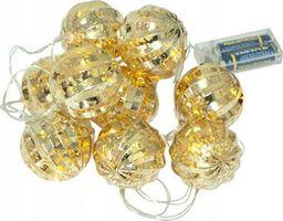 Lampki choinkowe TeamVeovision Lampki LED bombki choinkowe na baterie E18A