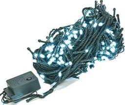 Lampki choinkowe TeamVeovision Lampki choinkowe LED 20m 250LED E10C1 Białe