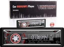 Radio samochodowe Voice Kraft Radio samochodowe Voice Kraft VK-8618 red RDS/USB/SD/Aux