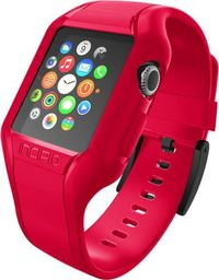 Incipio Incipio NGP Strap - Elastyczny pasek do Apple Watch 38mm (czerwony)