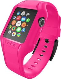 Incipio Incipio NGP Strap - Elastyczny pasek do Apple Watch 42mm (różowy)
