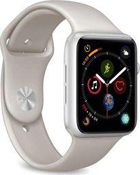 Puro PURO ICON Apple Watch Band Elastyczny pasek sportowy do Apple Watch 42 / 44 mm (S/M & M/L) (Taupe)