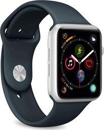 Puro PURO ICON Apple Watch Band Elastyczny pasek sportowy do Apple Watch 42 / 44 mm (S/M & M/L) (Navy Blue)