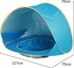 Namiot plażowy z basenem dla dziecka 117 x 79 cm Uniwersalny