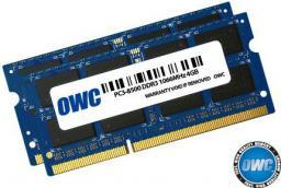 Pamięć dedykowana OWC SO-DIMM DDR3 2x4GB 1066MHz CL7 Apple Qualified (OWC8566DDR3S8GP)