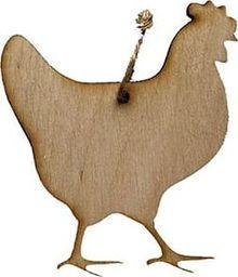 Wasserman Zawieszka kura mała 10cm sklejka