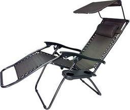 Procter Leżak ogrodowy, plażowy Zero Gravity L66R1 + stolik + daszek