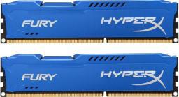 Pamięć HyperX HyperX, DDR3, 16 GB, 1866MHz, CL10 (HX318C10FK2/16)