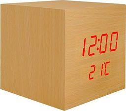 Radiobudzik LTC Zegarek budzik kostka LED z termometrem LXLTC04
