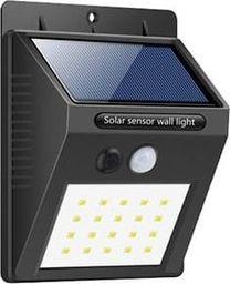 Kinkiet Linbox Solarna lampa ścienna. Kinkiet zmierzchowy 20LED