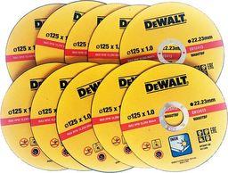 Dewalt 10 tarcz do cięcia stali inox DeWalt DT42340-QZ 125/1